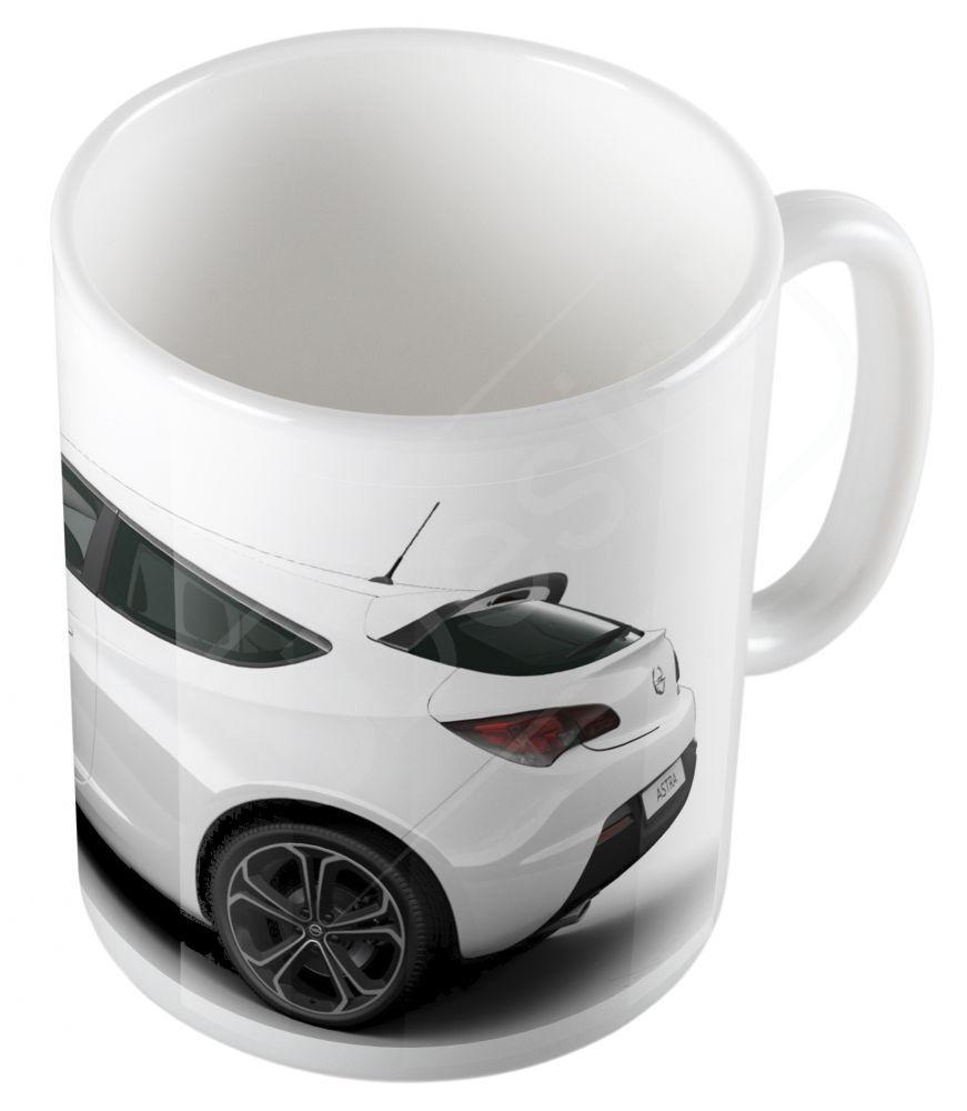 Autók - Opel Astra bögre