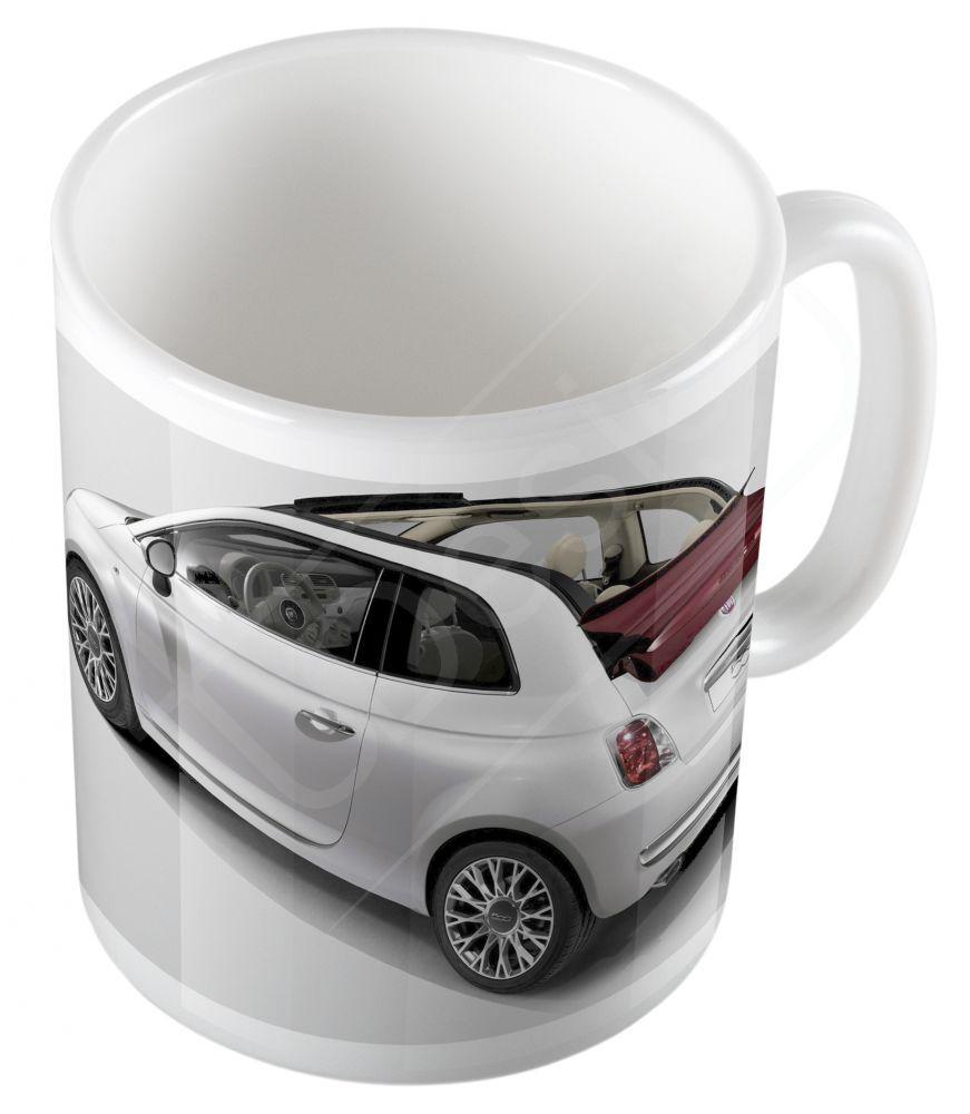 Autók - Fiat 500 bögre