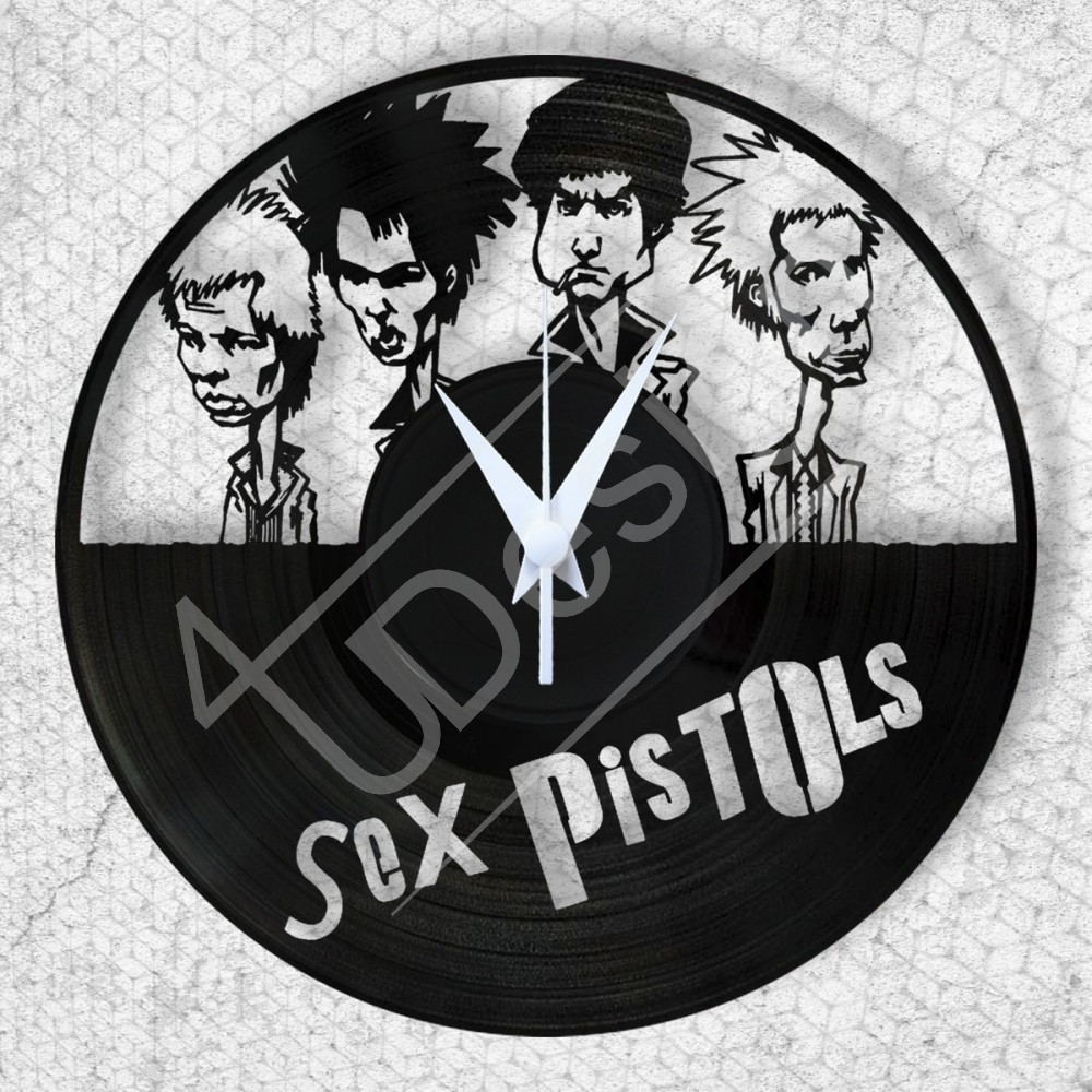 Sex Pistols hanglemez óra