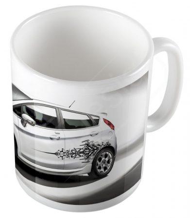 Autók - Ford Fiesta bögre