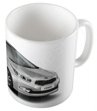 Autók - Kia Cee'd bögre