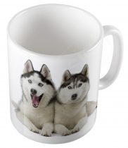 Kutyák - Husky  bögre