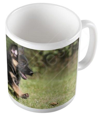 Kutya - Németjuhász kölyök bögre