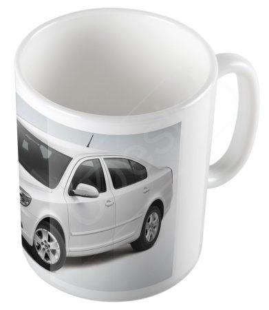 Autók - Skoda Oktávia bögre