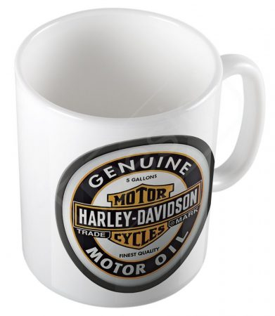 Retro Harley Davidson olaj bögre - MOT01