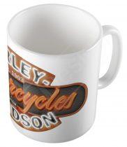 Retro Harley Davidson bögre - MOT03