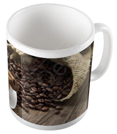 Retro kávés bögre