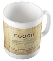 Retro Google bögre