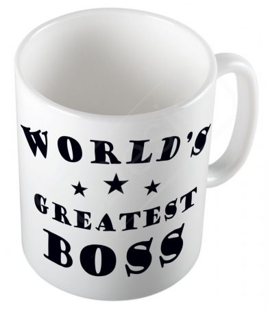 World's Greatest Boss bögre