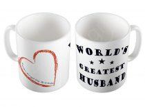 World's Greatest Husband bögre