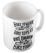 Bike To Work CYCLIST  bögre