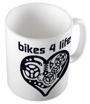 Bikes 4 Life CYCLIST  bögre