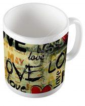 Szerelmes bögre - LOVE