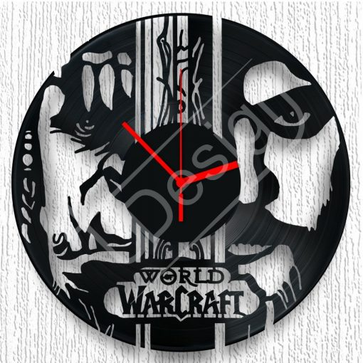 World of Warcraft - WOW hanglemez óra - bakelit óra