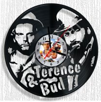 Bud Spencer és Terence Hill - hanglemez óra