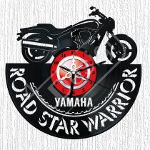 Yamaha Road Star Warrior hanglemez óra