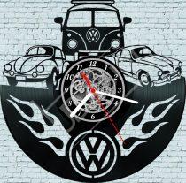 VW retro hanglemez óra
