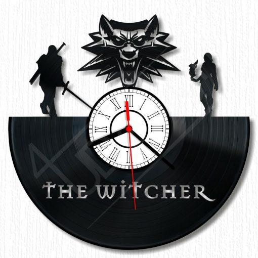 Witcher III hanglemez óra - bakelit óra