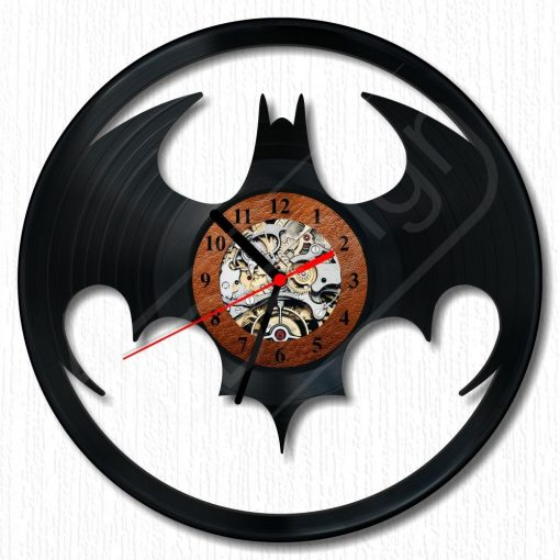 Batman hanglemez óra - bakelit óra