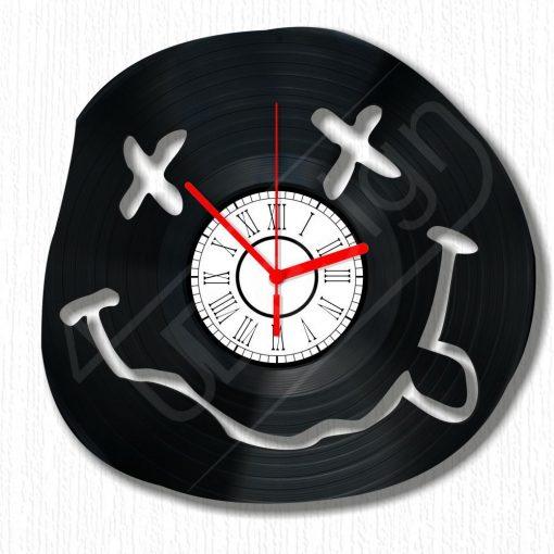Smilie hanglemez óra - bakelit óra