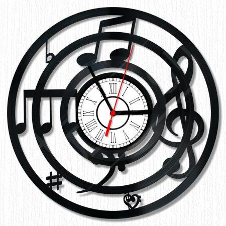 Zene hanglemez óra