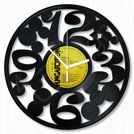 Körök hanglemez óra - bakelit óra