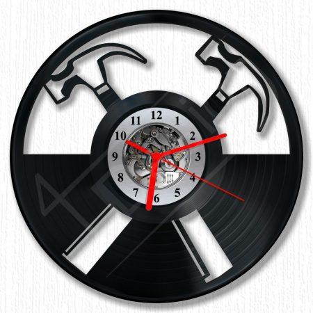 Pink Floyd kalapácsok hanglemez óra