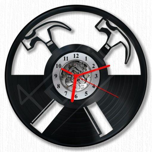 Pink Floyd kalapácsok hanglemez óra - bakelit óra