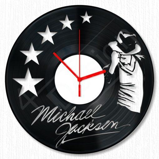 Michael Jackson hanglemez óra - bakelit óra