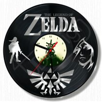 The Legend Of ZELDA hanglemez óra