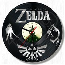 The Legend Of ZELDA hanglemez óra