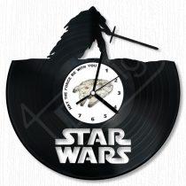 Star Wars hanglemez óra