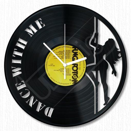 Táncolj velem hanglemez óra - bakelit óra
