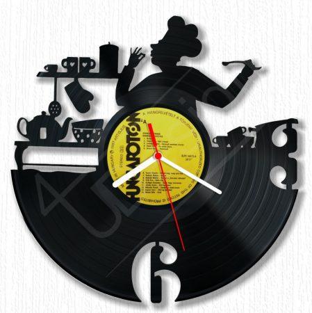 Konyhatündér hanglemez óra