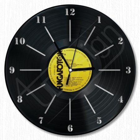 Elegánsan egyszerű hanglemez óra