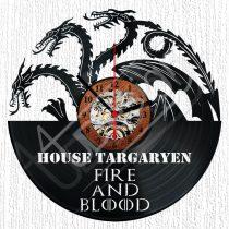 Trónok harca Targaryen hanglemez óra