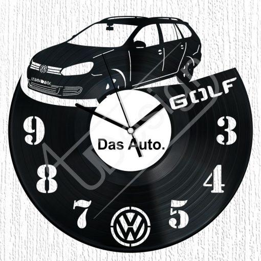 Volkswagen Golf Variant hanglemez óra - bakelit óra