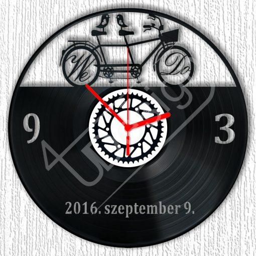 Bickilis - We Do - hanglemez óra tetszőleges dátummal - bakelit óra