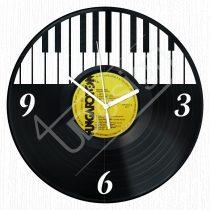 Zongorás hanglemez óra