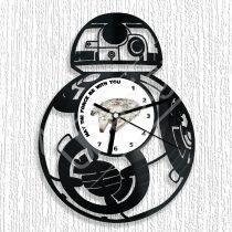 Star Wars BB-8 hanglemez óra