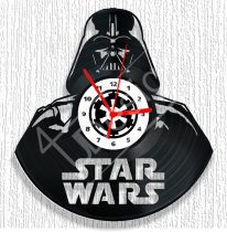 Star Wars Darth Vader hanglemez óra
