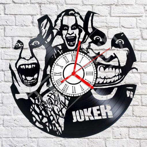 Joker hanglemez óra - bakelit óra