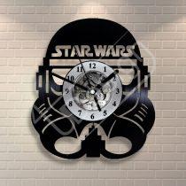 Star Wars rohamosztagos hanglemez óra