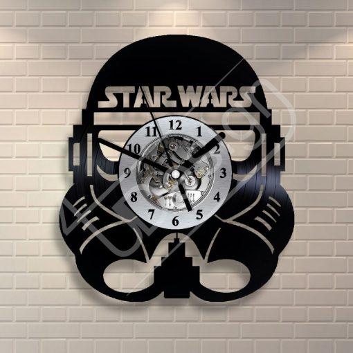 Star Wars rohamosztagos hanglemez óra - bakelit óra