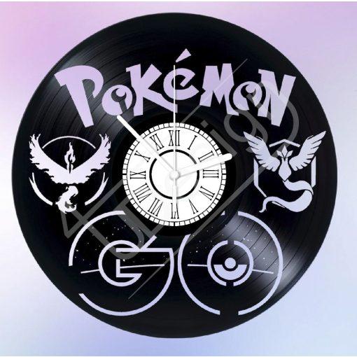 Pokémon GO hanglemez óra - bakelit óra