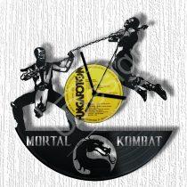 Mortal Kombat hanglemez óra