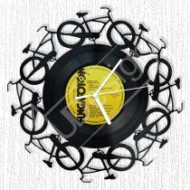 Bicajok hanglemez óra