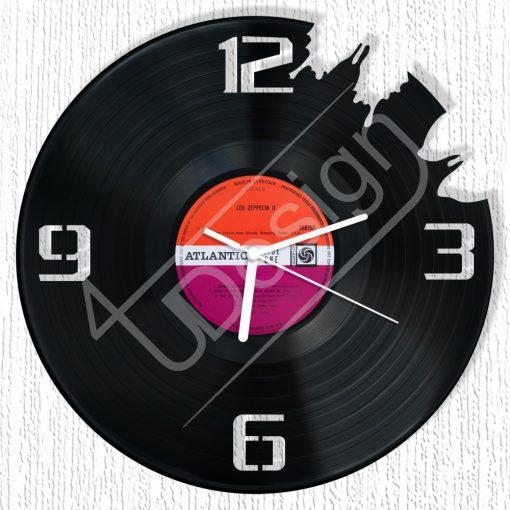 City  hanglemez óra - bakelit óra