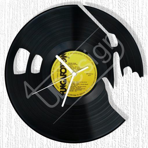 DJ hanglemez óra - bakelit óra
