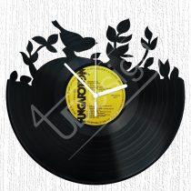 Madárka hanglemez óra